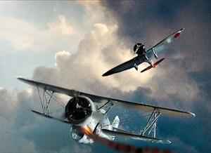 カーチス・ホークⅢ対96艦戦