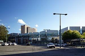 北口から見た帯広駅