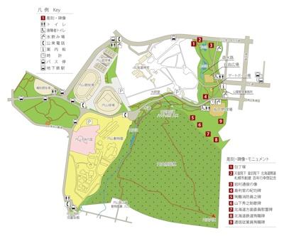円山公園地図