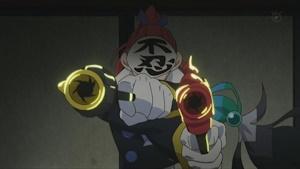 いきなり炎刀・銃を使用