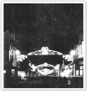 昭和初期の狸小路