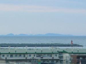 樺太の島影