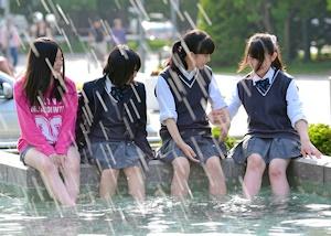 札幌の真夏日