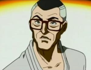 アニメ版の渋川先生