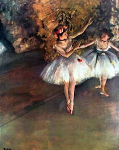 ドガの二人の踊り子