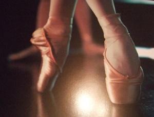 踊り子のトゥシューズ