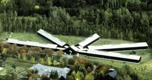 五翼放射舎房の外見