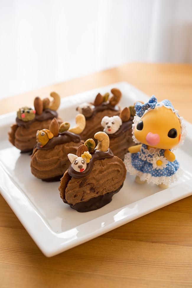 ショウタニ la niche 一心創菓 動物クッキー
