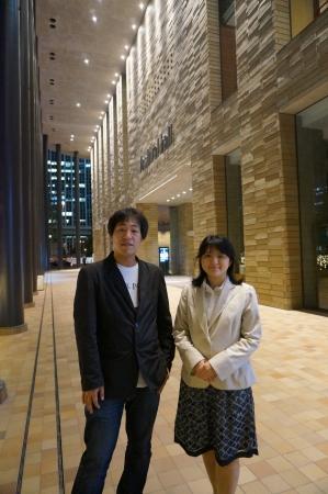 長﨑励朗さんと田浦紀子対談後1_20140523 - コピー - コピー