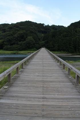 蓬莱橋の端っこの方