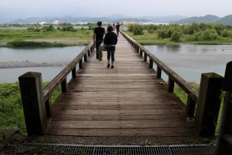 蓬莱橋の向こう側