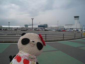静岡空港の駐車場