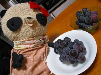 おばぶと葡萄