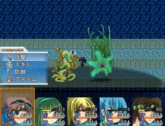 箱庭物語2戦闘