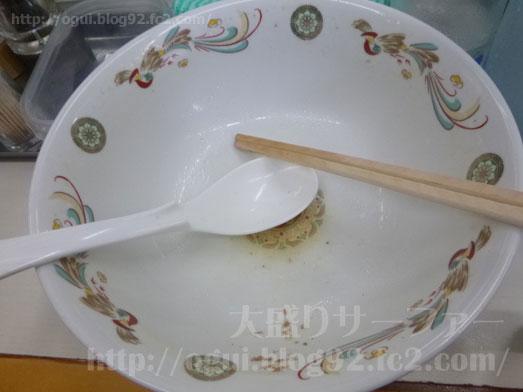青島食堂秋葉原店長岡ラーメンチャーシュー麺大盛り023