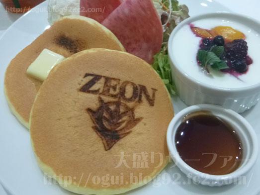 ガンダムカフェイオンモール幕張パンケーキモーニング026
