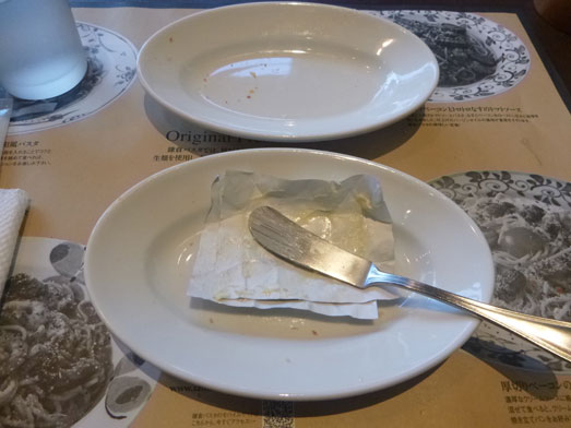 鎌倉パスタでパン食べ放題033