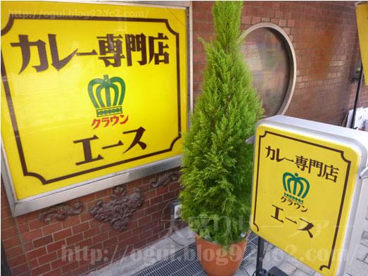 クラウンエース上野店でカツカレー大盛り007