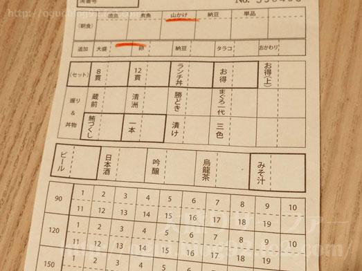 まぐろ一代エキュート上野店の朝定食024
