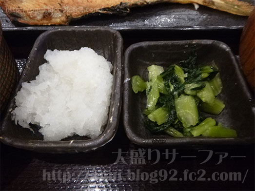 しんぱち食堂新宿店で朝食メニューほっけ定食017