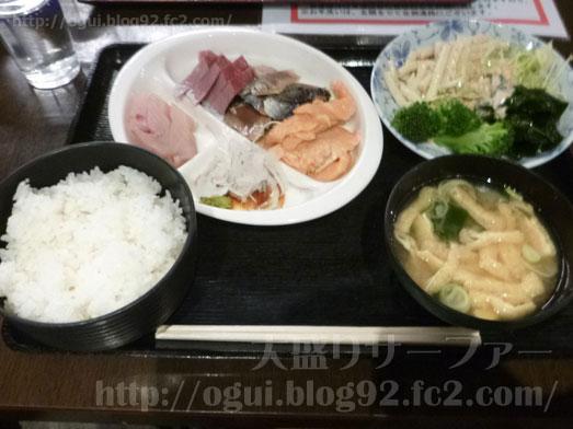 浅草橋たいこ茶屋のランチバイキング刺身食べ放題028