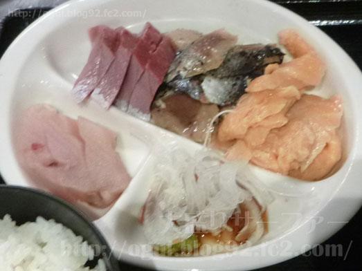 浅草橋たいこ茶屋のランチバイキング刺身食べ放題029