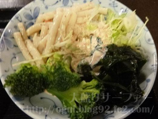 浅草橋たいこ茶屋のランチバイキング刺身食べ放題030