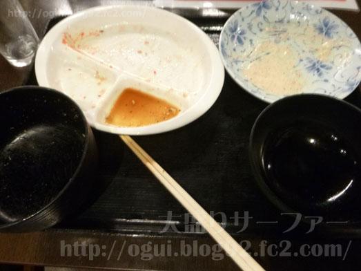 浅草橋たいこ茶屋のランチバイキング刺身食べ放題041