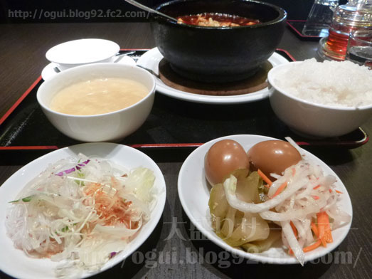 多謝海浜幕張店の中華定食ランチ021
