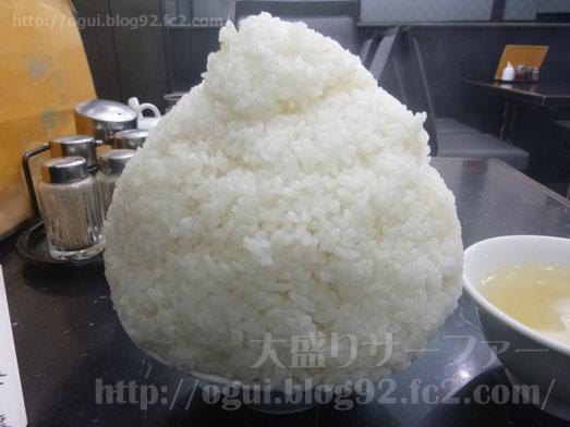 品川デカ盛り登龍で特大サイズご飯大盛り麻婆豆腐定食013