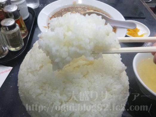 品川デカ盛り登龍で特大サイズご飯大盛り麻婆豆腐定食017