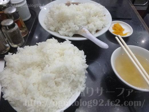 品川デカ盛り登龍で特大サイズご飯大盛り麻婆豆腐定食023