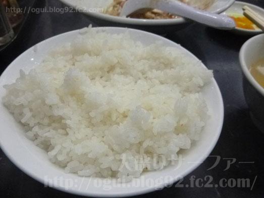 品川デカ盛り登龍で特大サイズご飯大盛り麻婆豆腐定食028