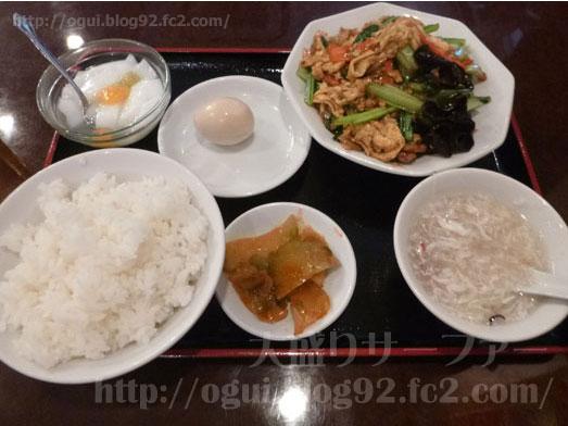 上野御徒町中華料理雅亭で日替りランチおかわり自由017