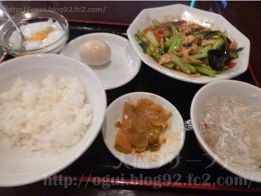 上野御徒町中華料理雅亭で日替りランチおかわり自由025