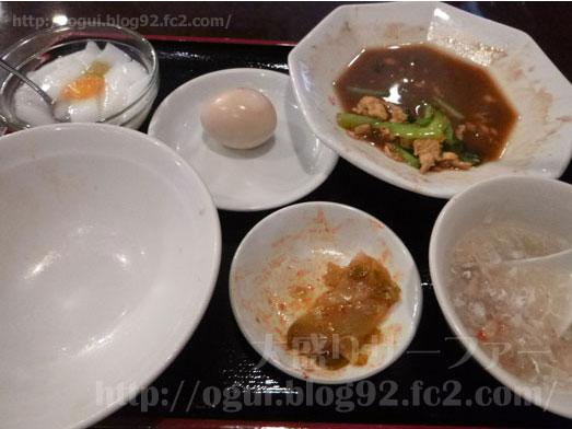 上野御徒町中華料理雅亭で日替りランチおかわり自由026