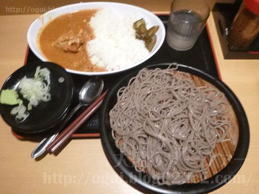 よもだそば日本橋でもり蕎麦・よもだカレー042