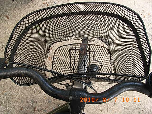 自転車の 自転車 荷台 カゴ : ... 買い物】自転車のカゴと荷台