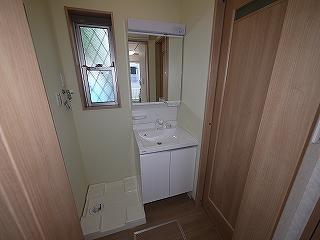 メゾネットピーチ1号室洗面所