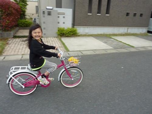自転車練習 (1)
