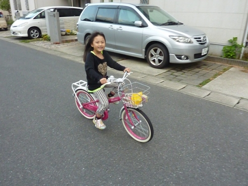自転車練習 (7)