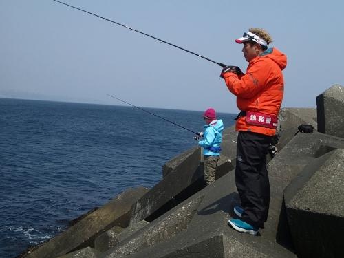 プロ釣り中