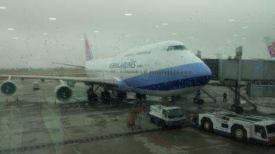 中華航空機400