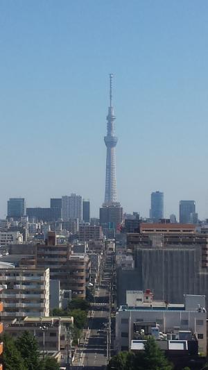 東京スカイツリー(ホテルから)400