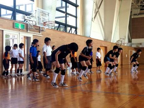 2014-7-6 陵南中練習会 (1)