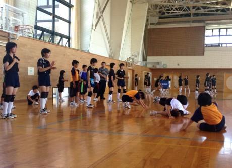 2014-7-6 陵南中練習会 (2)