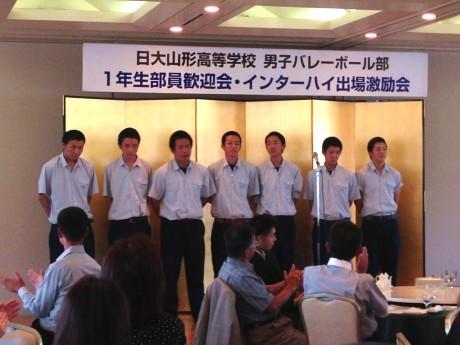 2014-7-6 日大一年生歓迎会 (1)