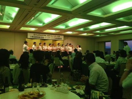 2014-7-6 日大一年生歓迎会 (2)