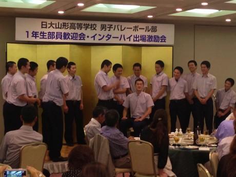 2014-7-6 日大一年生歓迎会 (3)