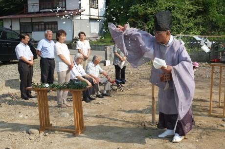 2014-7-31 K様地鎮祭 (1)
